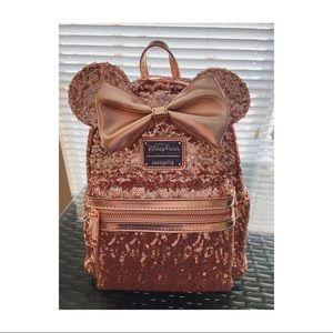 NWT Loungefly Minnie Backpack.